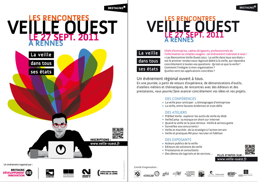 Flyer Rencontres Veille Ouest