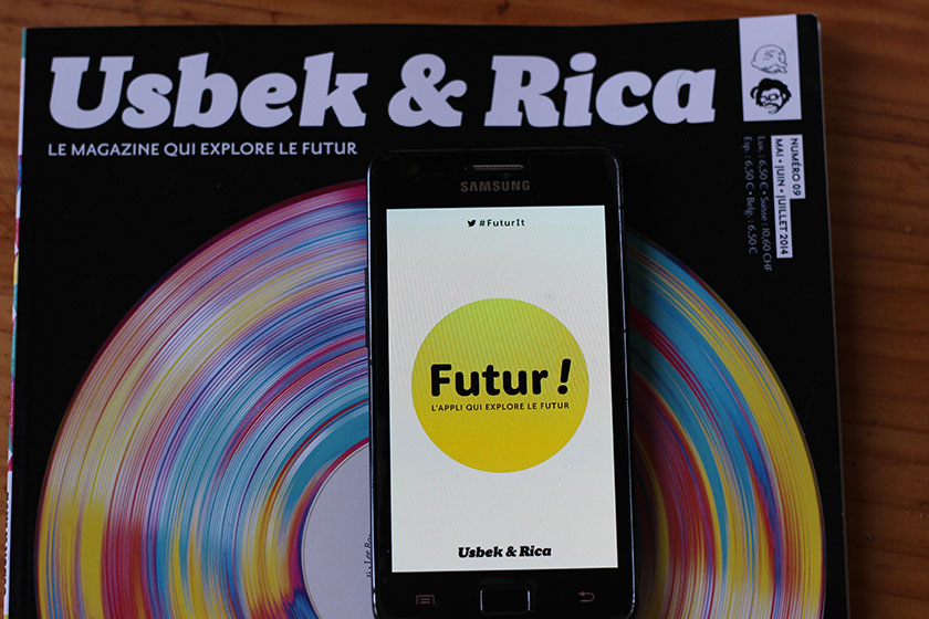 Application Futur ! Usbek & Rica