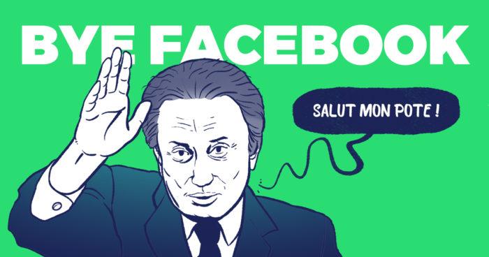 Au revoir Facebook, L'Œil au Carré te quitte