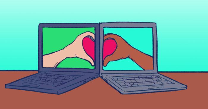 Rédacteur web confiné sur internet