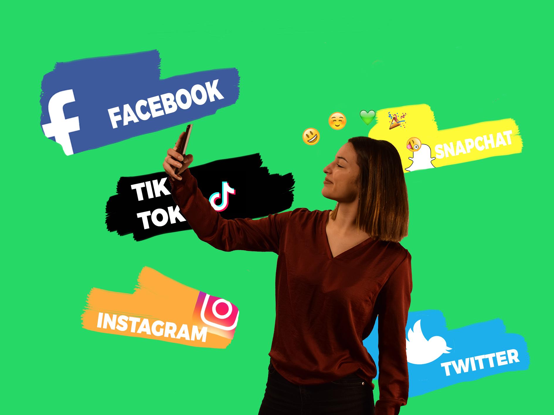 20 ans, addicte aux réseaux sociaux ?