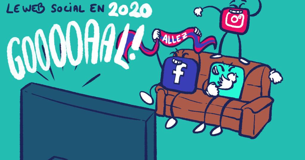 Passif sur les réseaux sociaux