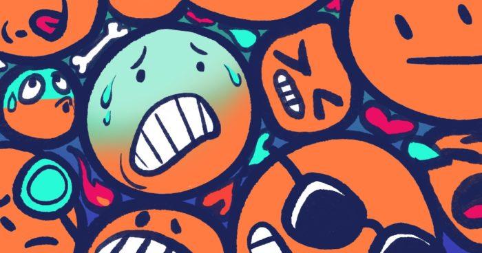 Trop d'emojis dans un contenu