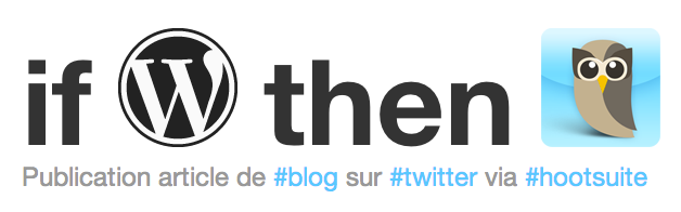 IFTTT-Wordpress-Hootsuite