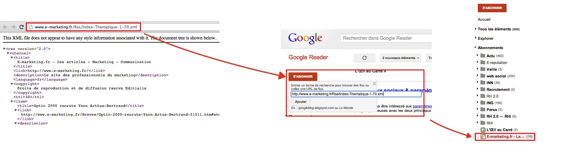 Flux-Rss-Google-Reader 2