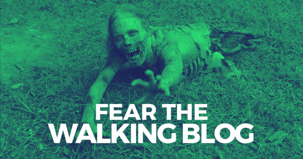 Fear the walking blog